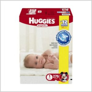 huggies snug dry