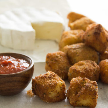 Fried Brie Bites