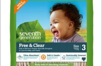 10/17 Amazon LOVE/ Seventh Generation Baby Diapers