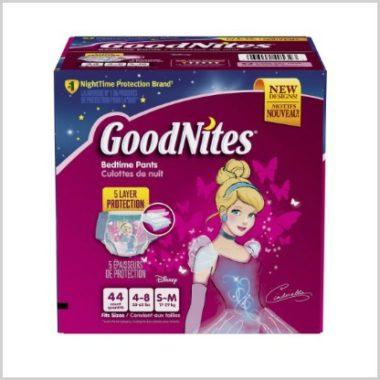 10/26 Amazon LOVE/ GoodNites Bedtime Pants