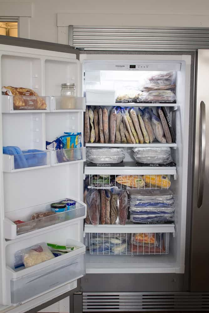Attractive 10 Awesome Ideas for Organizing Your Freezer Meals TW89