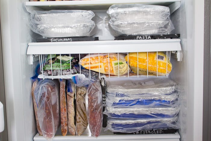 Wonderful 10 Awesome Ideas for Organizing Your Freezer Meals QT72