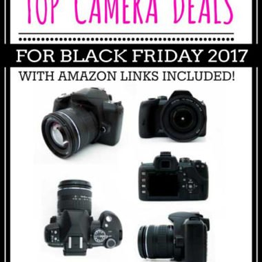 Top Camera Deals for Black Friday 2017
