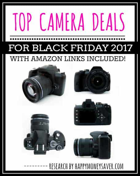 Top Camera Deals for Black Friday 2017 including canon nikon and more