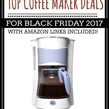 Top Coffee Maker Deals for Black Friday 2017