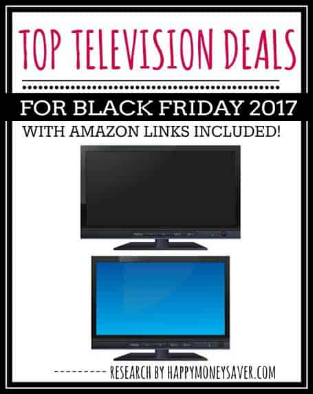 TOP TV DEALS FOR BLACK FRIDAY 2017