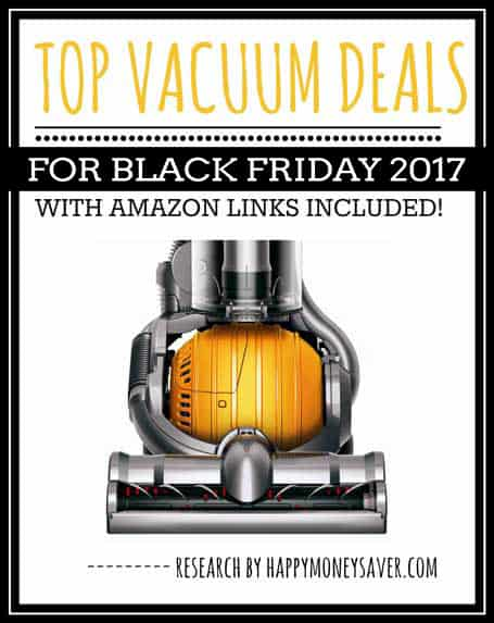 Top Vacuum Deals for Black Friday 2017