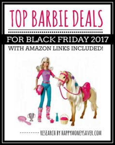 Top Barbie Deals for Black Friday 2017