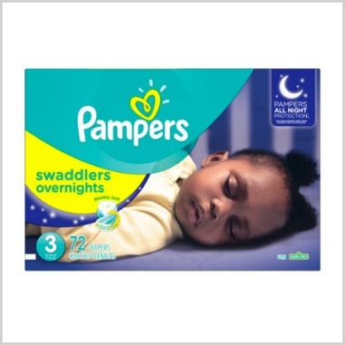11/29 Amazon LOVE/ Pampers Swaddlers Overnight Diapers