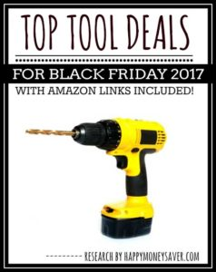 Top Cordless Drills & Tool Deals for Black Friday 2017