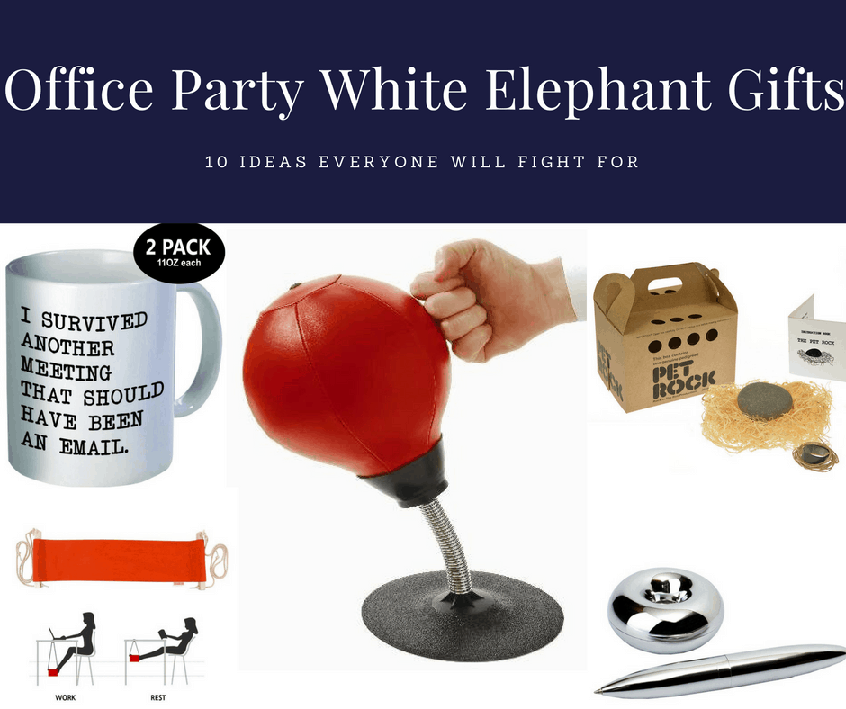 Office Party White Elephant Gift Ideas