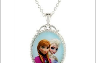 12/6 Amazon Daily Deals/ Disney Frozen Anna & Elsa Necklace