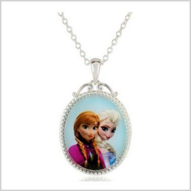 12/6 Amazon Daily Deals/ Disney Frozen Anna & Elsa Necklace