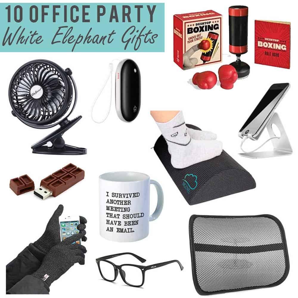 10 Office Party White Elephant Gift Ideas Happy Money Saver