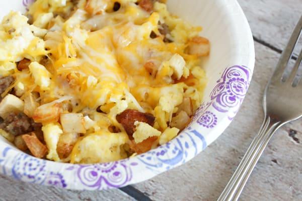 Easy Breakfast Bowls   Freezer Friendly