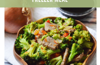 Paleo Beef and Broccoli Freezer Meal