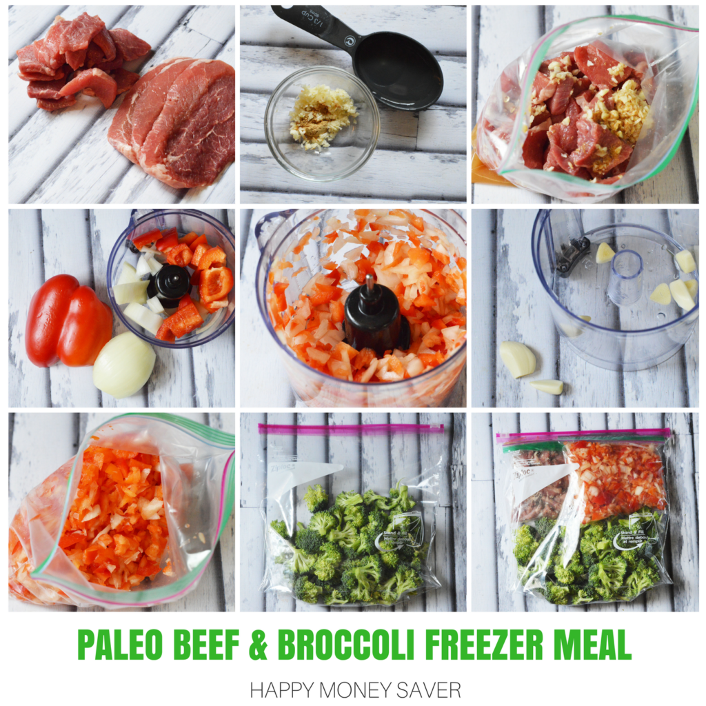 Paleo Beef & Broccoli Freezer Meal   Make Ahead Meals   Happy Money Saver