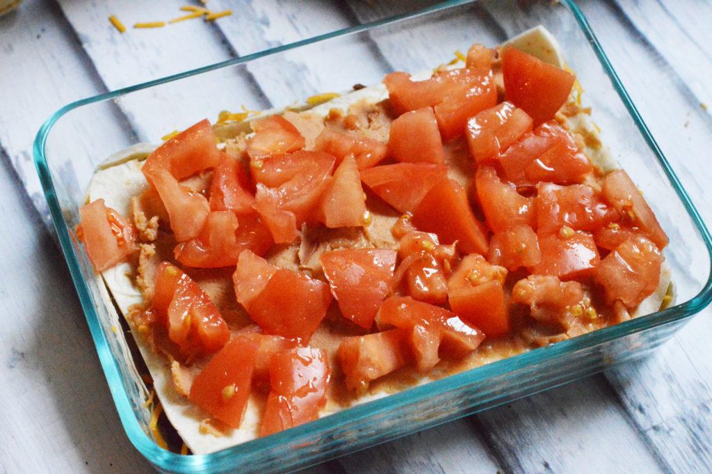 Easy Burrito Pie Freezer Meal | Happy Money Saver