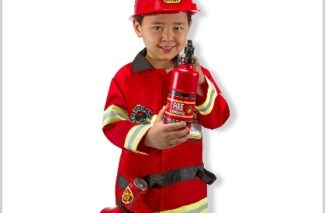 1/5 Amazon LOVE/ Melissa & Doug Fire Chief Costume