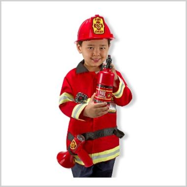 1/5 Amazon LOVE/ Melissa & Doug Fire Chief Costume