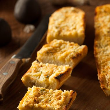 Freezer Friendly Garlic Bread