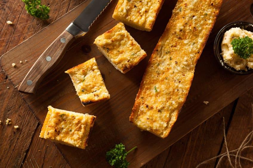 Freezer Friendly Garlic Bread Recipe | Happy Money Saver