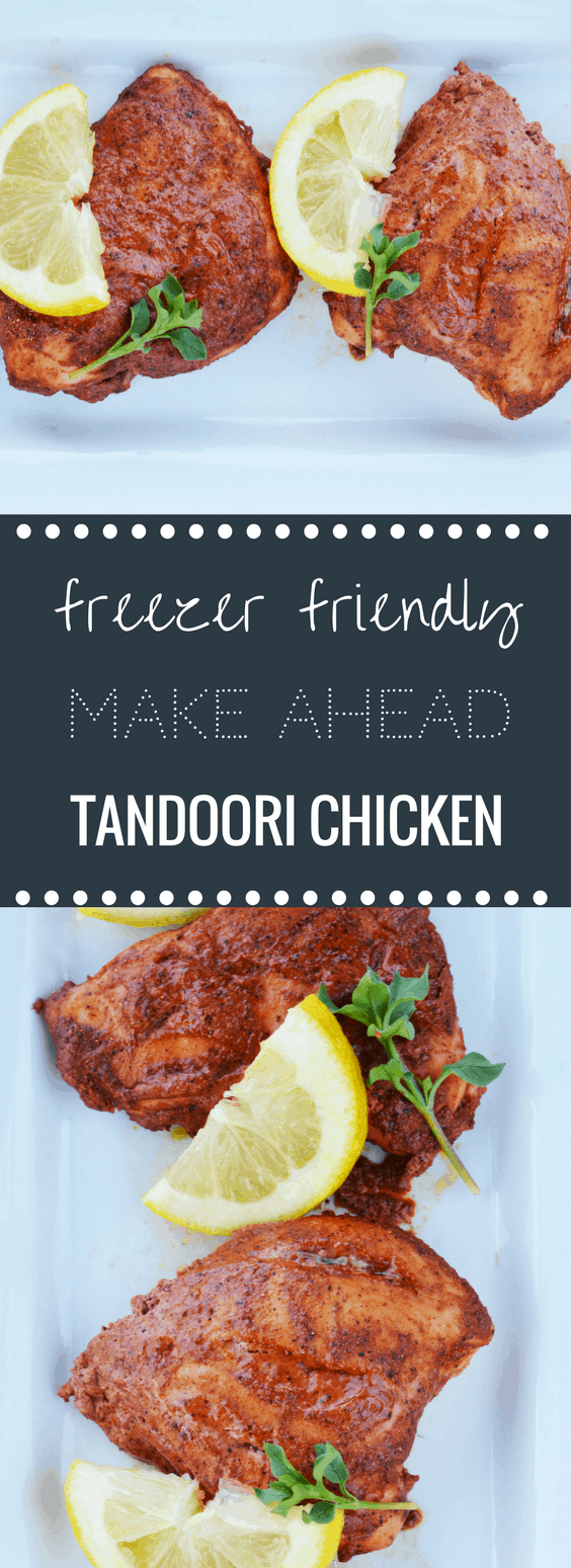 Freezer Friendly Baked Tandoori Chicken Recipe | Happy Money Saver - Need something new for dinner? Mix things up and impress your family with this tasty recipe!