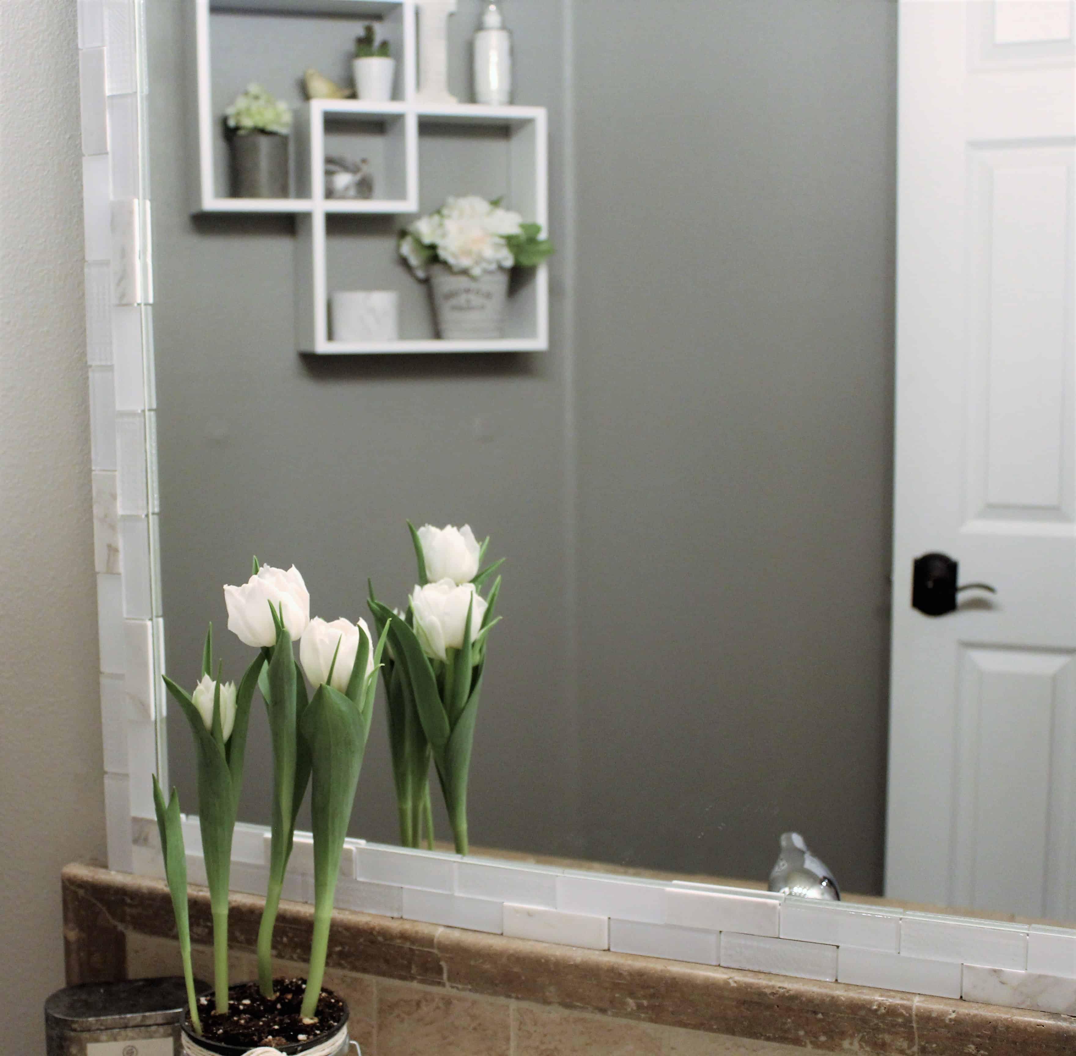 Easy Farmhouse Diy Bathroom Makeover In One Day Under 300