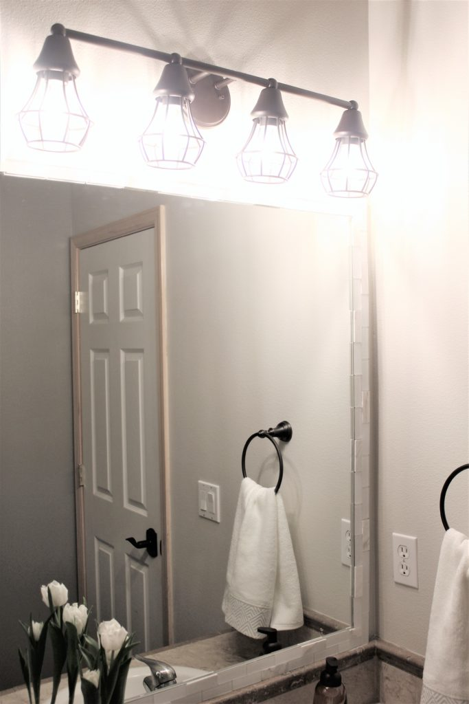 DIY Bathroom Makeover in One Day Under $300