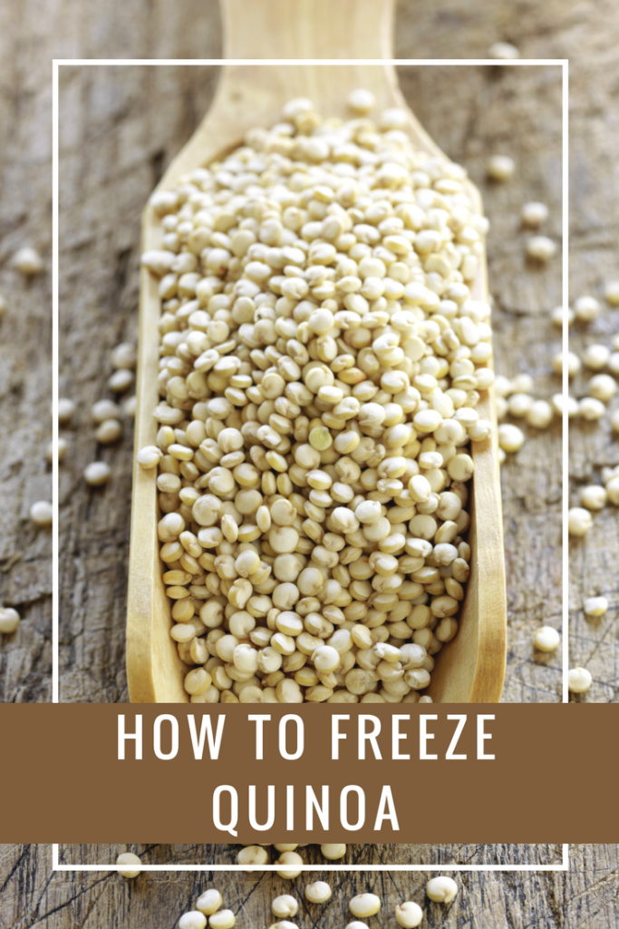 Follow these tips to help you learn how to freeze quinoa so you can cut down your meal prep time and eat healthier more efficiently!