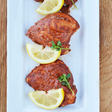 Freezer Friendly Baked Tandoori Chicken Recipe