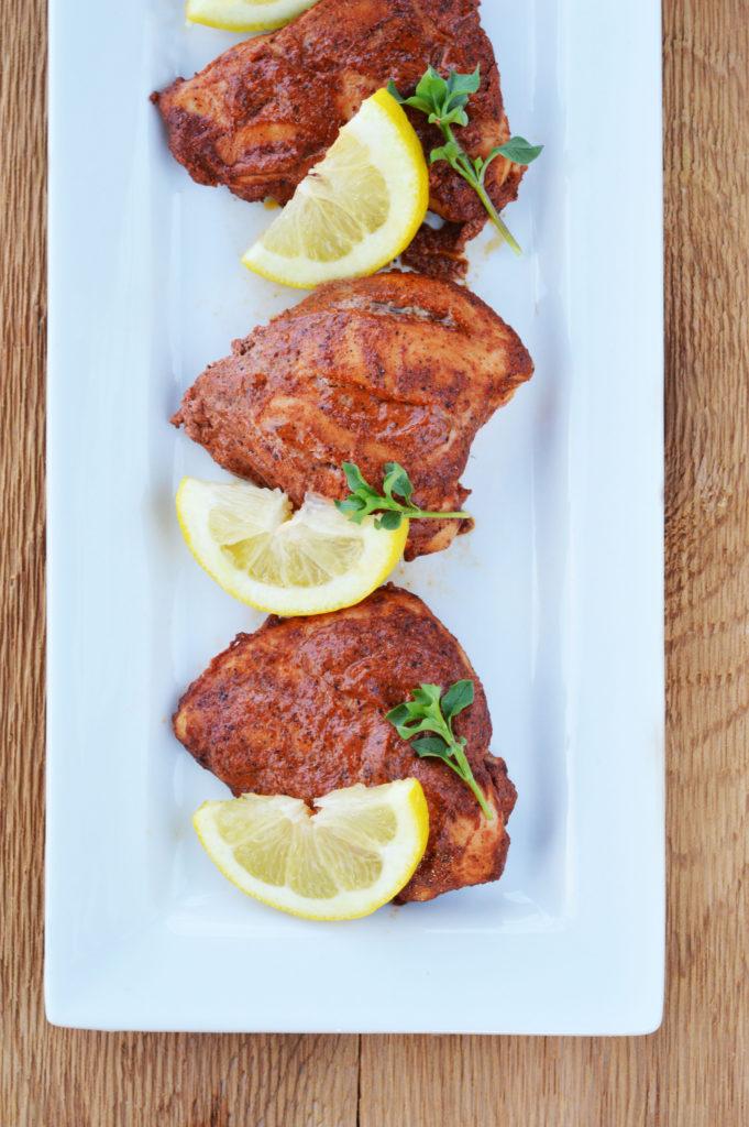 Easy Baked Tandoori Chicken