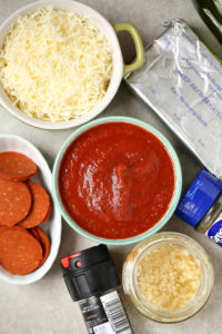 Easy Pepperoni Pizza Dip Appetizer
