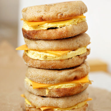 Make Ahead Freezer Friendly Gluten Free Breakfast Sandwiches