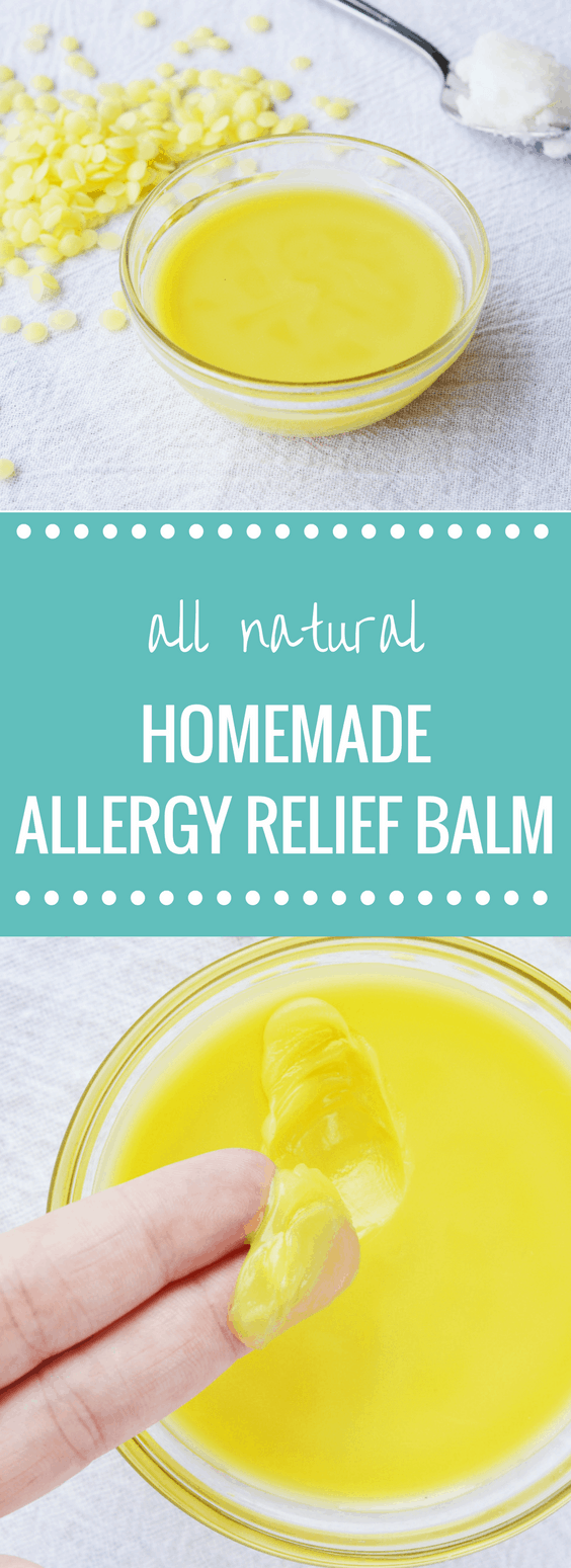 DIY Natural Allergy Relief Balm | Happy Money Saver - Spring is one of the most beautiful times of the year. However, it can start to look ugly if you suffer from allergies. Bring yourself some easy and natural relief from those pesky allergies by trying some of this allergy relief balm!