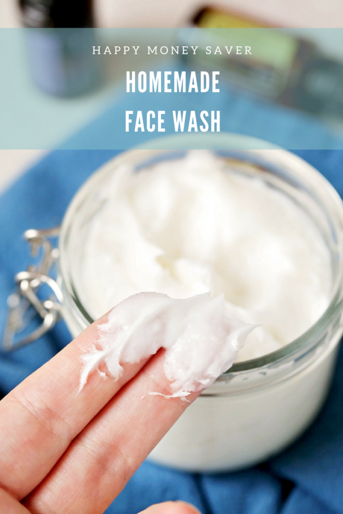 Homemade Peppermint Face Wash | Happy Money Saver