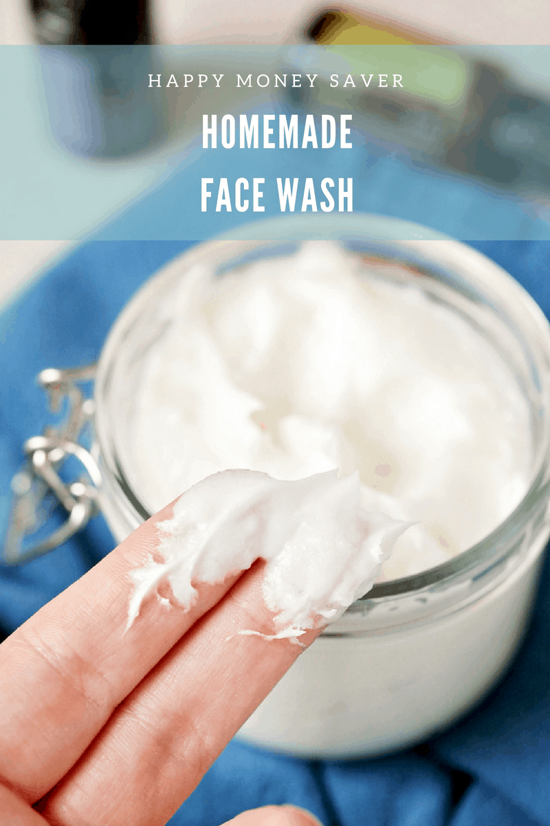 Home made facial cleanser