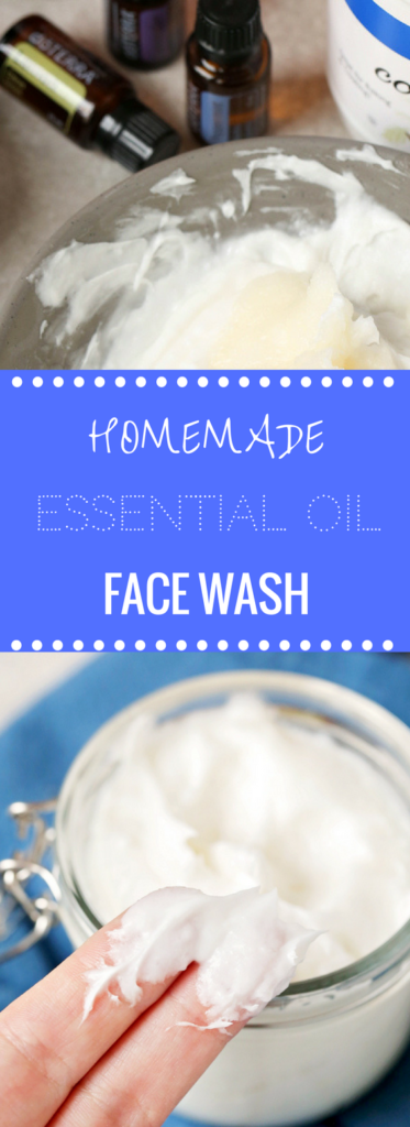 Homemade Essential Oil Facewash | Happy Money Saver