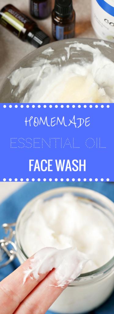 Homemade Essential Oil Facewash | Happy Money Saver