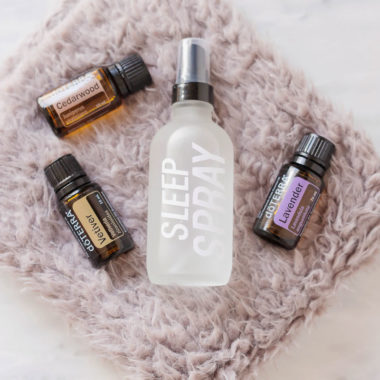 Have a better nights sleep with this homemade Sleep Spray made with relaxing, peaceful, and sleep-inducing essential oils. You've never slept better!