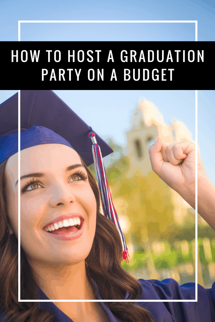 Graduation season is around the corner and with these tips, it's easy to host a graduation party on a budget for your beloved grads!