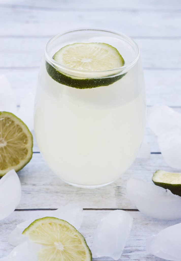 All Natural Sparkling Ginger Limeade