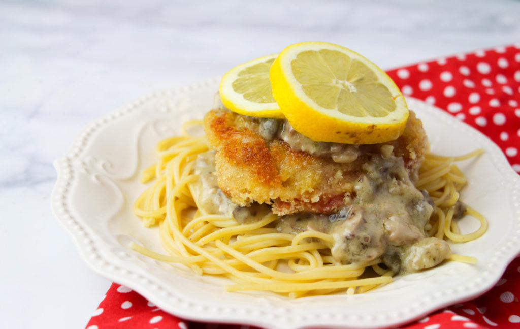 Chicken Piccata Freezer Meal