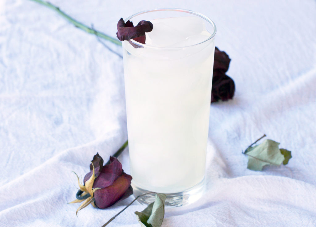 Rose Infused Lemonade | Essential Oils