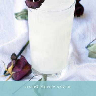 Rose Infused Lemonade Recipe