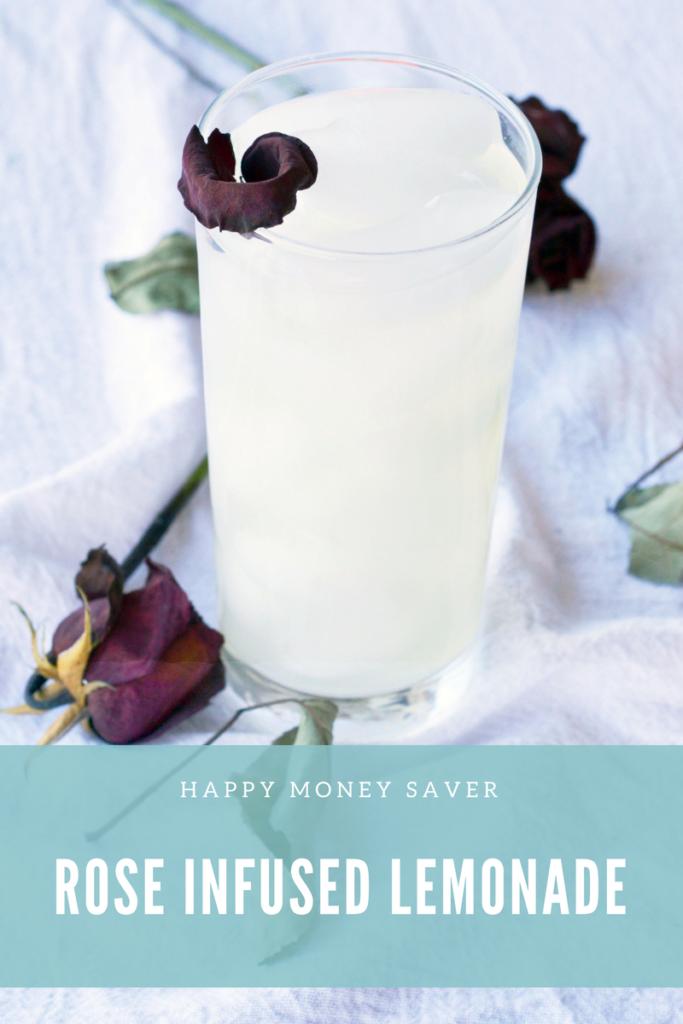 Rose Infused Lemonade | Essential Oils