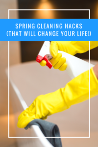 Take advantage of these spring cleaning hacks to get your house looking cleaner than ever before this spring cleaning season!