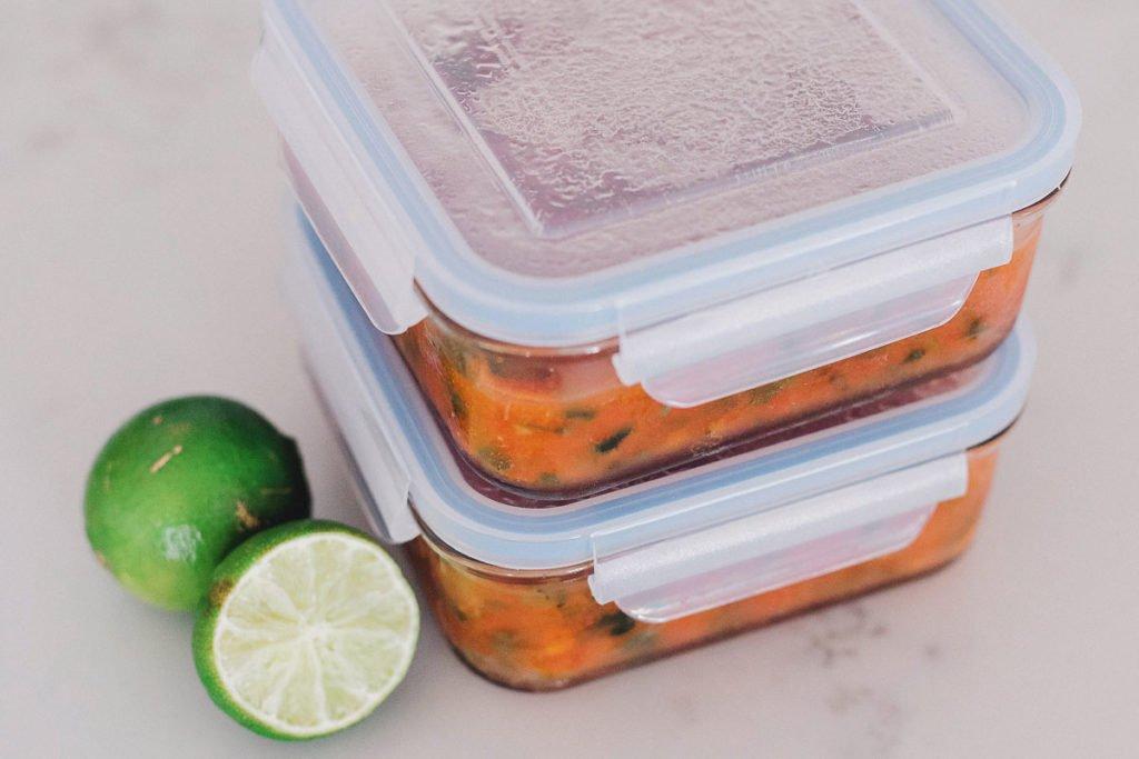 Freezing salsa tips!