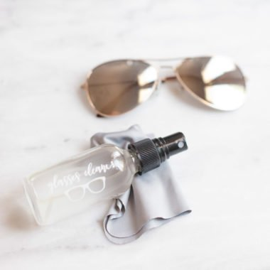 Homemade Eyeglass and Sunglass Cleaner