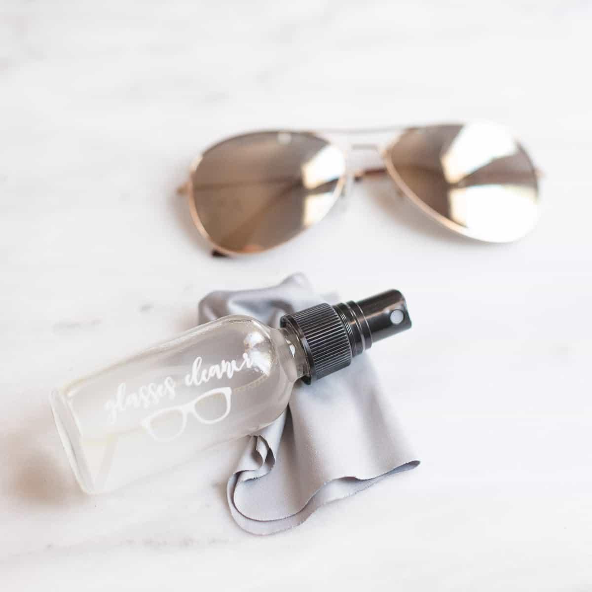 Homemade Eyeglass and Sunglass Cleaner | Happy Money Saver